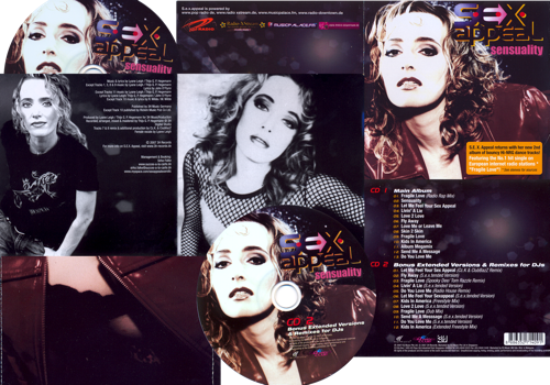 S.E.X. Appeal: Sensuality (Limited Double CD)